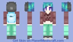 -=Aquamarine=- Minecraft Skin