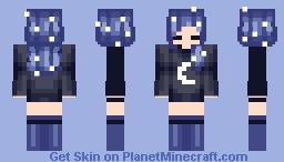 Under the Stars ~ Bowsteria Minecraft Skin