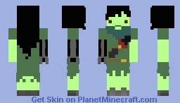 Shoko - Adventure Time Minecraft Skin
