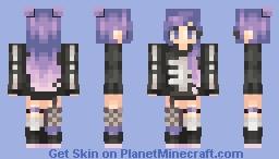 Skeleton Sweater Minecraft Skin