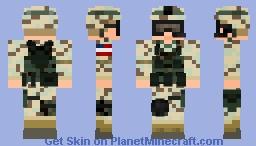 Iraq war - US army Minecraft Skin