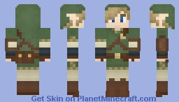 Link (Legend Of Zelda Twilight Princess) Minecraft