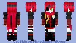 Lavi Bookman (D. Gray-Man 2016) Minecraft Skin