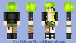 Malice ~ Oc Minecraft Skin
