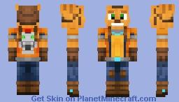 Ratchet & Clank Minecraft Skin