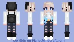 〚ᵏᵃˢˢᶤᵉ〛~ Punk Chic Minecraft Skin