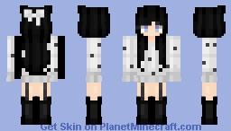 Midnight girl Minecraft Skin