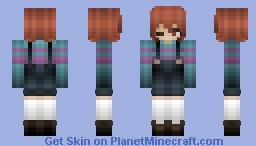 Frisk [] Underswap [] Minecraft Skin