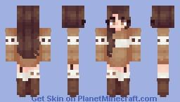 caramel Minecraft Skin