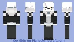 .:Thea:. ღ Gaster/Echotale Sans ღ Minecraft Skin