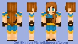 ♦ℜivanna16♦ Remake of my First Skin Ever Minecraft Skin