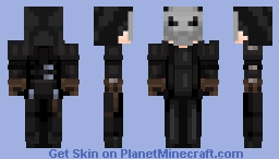 The Masked | Rpg Character Minecraft Skin