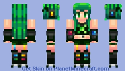 Icarian's Contest-XBox Girl Minecraft Skin