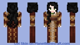 Scarlet Gown - Old Skin(Dull Style) V.1 Minecraft Skin