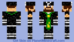 Wreacking Mobs Steve Minecraft Skin