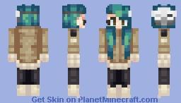 ♬₵ø~Ѻкḯℯ♬ - Online Persona :D Minecraft Skin