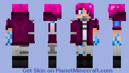 Dead Silence ☠ OC ☠ Online Persona Entry Minecraft Skin