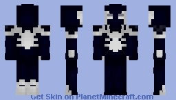 Agent Venom | All New All Different Minecraft Skin
