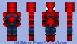 Spiderman-Captain America Civil War Minecraft Skin
