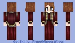 Maroon Minecraft Skin
