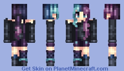 ~Colour party~ Lyя Minecraft Skin