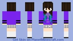 SuperActiveMia-2 Minecraft Skin