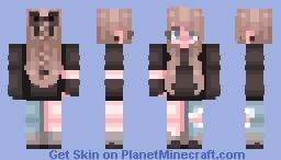 black Minecraft Skin