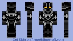 Black Panther: Civil War Minecraft Skin