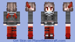 Mercenary Ver Million Minecraft Skin