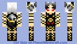 Umbreon Outfit Minecraft Skin