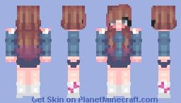 ♥♥ ιƒ уσυ ∂συвт уσυяѕєℓƒ ι ωιℓℓ вє нєяє ƒσя уσυ, ℓσνє! ♥♥ Minecraft Skin