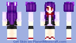 Bonnie (Girl, Human) ~ Fnaf Minecraft Skin