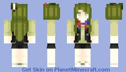 Springtrap (Girl, Human) ~ Fnaf 3 Minecraft