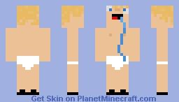 This is my true form Minecraft Skin