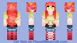 Miia The Lamia ミーア Minecraft Skin