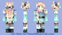 Ocean Waves Minecraft Skin