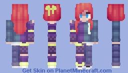 contest skin Minecraft