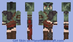*Wiggles Eyebrows* - Orc Minecraft Skin