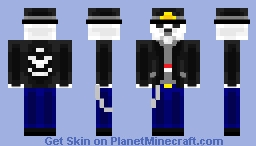 Rock is Not Dead - Online Persona Skin Contest Minecraft Skin