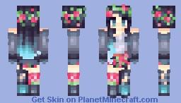 ғℓσяα Minecraft Skin