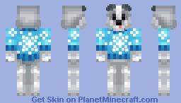 εяιк тнε нυsкү Minecraft Skin