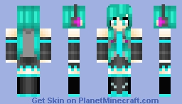 ~ Hatsune Miku ~ (A skin made for a friend.)
