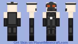 Psycho Mantis [METAL GEAR SOLID] Minecraft Skin