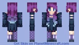 ~Afternight~ Lyя Minecraft Skin
