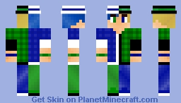 King Luftonen Minecraft Skin