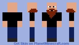CardboardKraken *Now with a black shirt* Minecraft