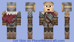 Warrior Class ( Dark Souls 3 ) Minecraft Skin