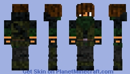 US Marine Corps Soldier Minecraft