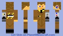 Corporate Big Shot Minecraft Skin