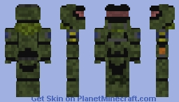 Halo Reach Jun Minecraft